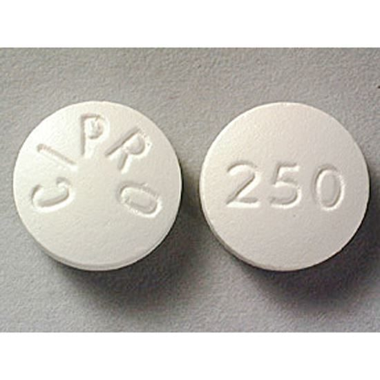 Ciprofloxacin 250 mg 100 count bottle rocket