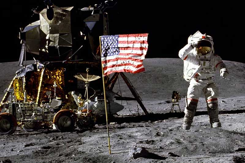 Astronauts walking on the moon when Gilbert J. McGuff founded the McGuff Company