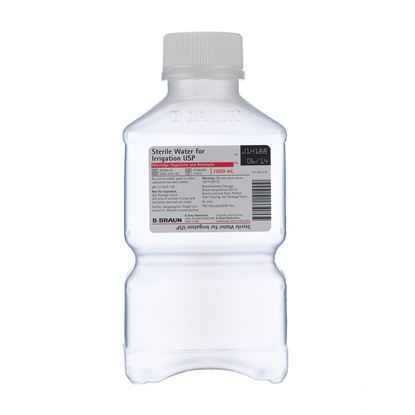 Sterile Water for Irrigation USP, 1,000mL, PIC™, 16/Case