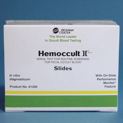 Hemoccult® SENSA® with 100 Single Slides, 100 Applicators and Two 15mL Bottles of SENSA® Developer, 100/Box