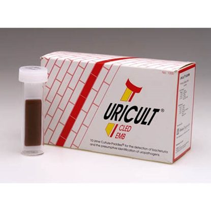 Uricult, Urine Culture Paddle Cled Algar, 10 Tests/Box