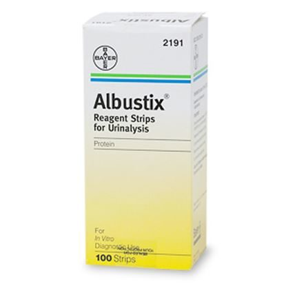 Albustix®, Reagent Strips, Tests for Protein in Urine, 100/Box