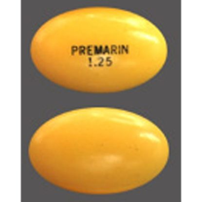 Premarin® (Conjugated Estrogens) , 1.25mg, 100 Tablets/Bottle