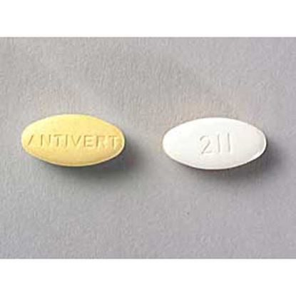 Antivert®, 25mg, 100 Tablets/Bottle