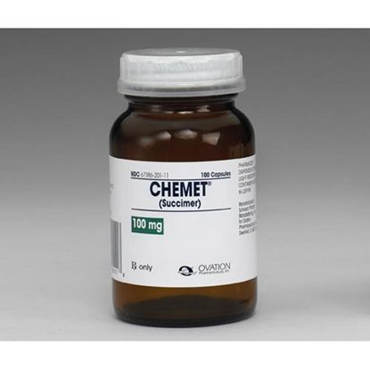Chemet (DMSA), 100mg, 100 Capsules/Bottle