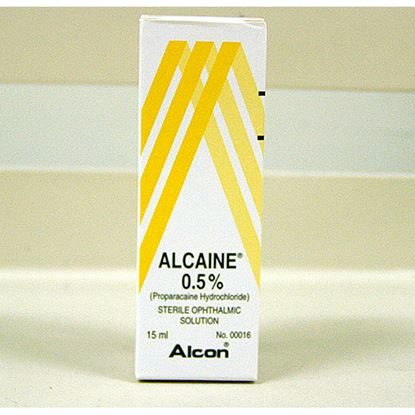 Ophthalmic Solution 0.50%, Refrigerate, 15mL, Alcaine®, Each