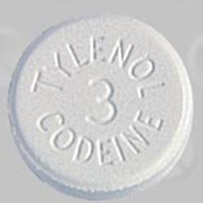 Tylenol® with Codeine #3 [C-III], 300/30mg, 100 Tablets/Bottle