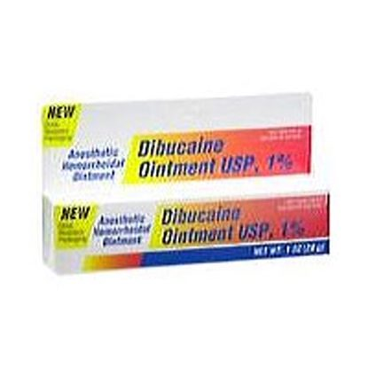Dibucaine 1%, Ointment, 30gm Tube