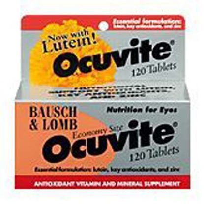 Ocuvite® (Omega 3 and Lutein), 120 Tablets/Bottle