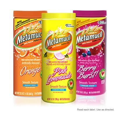Metamucil® Orange, Powder, 20.3oz, Bottle