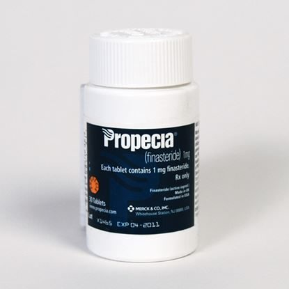 PROPECIA® (Finasteride), 1mg, 30 Tablets/Bottle