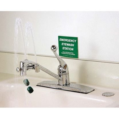 Eyewash, Faucet-Mounted Eye Wash, Adjustable Aerated Outlet, EyeSafe™, Each