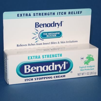 Benadryl, Extra Strength, Cream, 1 Ounce Tube