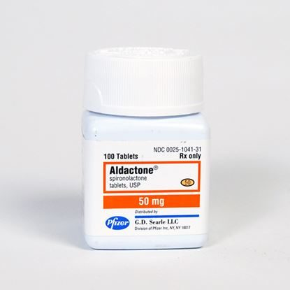 Aldactone®, 50mg, 100 Tablets/Bottle