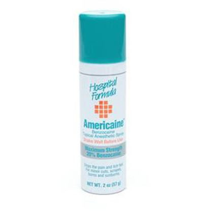 Americaine®, 20%, (Benzocaine Spray), 2 Ounce Bottle