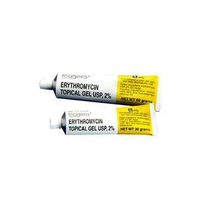Erythromycin Base/Ethanol, 2%, Topical, Solution, 60mL