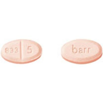 Warfarin Sodium, 5mg, 100 Tablets/Bottle