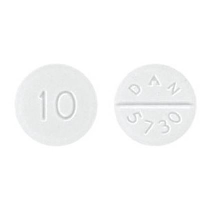 Baclofen, 10mg, 100 Tablets/Bottle