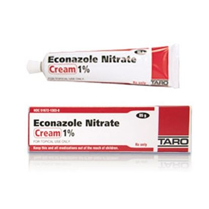 Econazole Nitrate, 1%, Cream, 15gm Tube