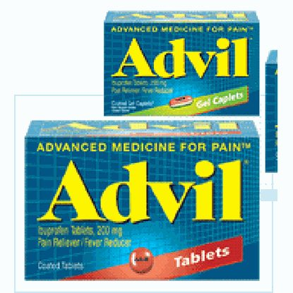 Advil®, 200mg, 50 Tablets/Bottle