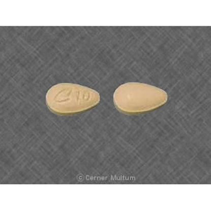 Cialis®, 10mg, 30 Tablets/Bottle