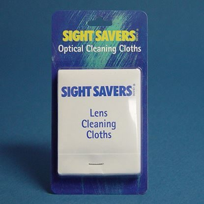 "Wipes, Lens, Pre-Moistened Cleaning Tissues, 5"" x 8"", Sight Savers®, 100 Tissues/Box"