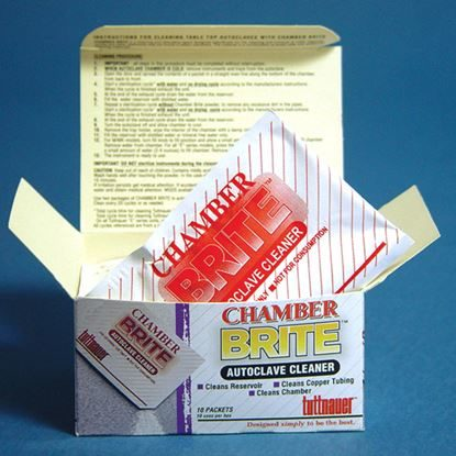 Cleaner, Autoclave, Pre-Measured Packets, Chamber Brite, 10/Box