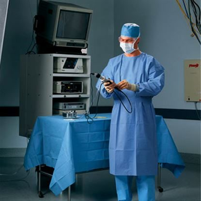 Gown, Procedure, X-Large, Blue, 60/Case