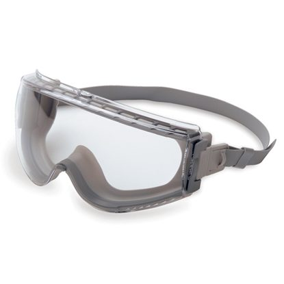 Goggle, Safety Barrier   Clear Lens,  Adjustable Strap, Each