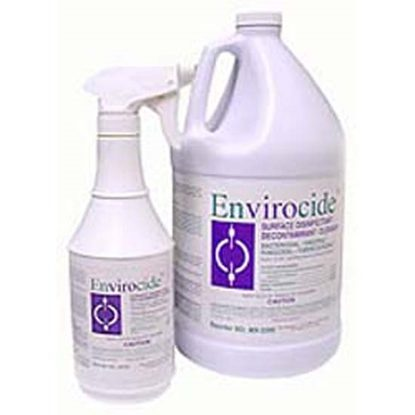 Envirocide Disinfectant, 1 Gallon, Envirocide®, Isopropanol,  Each