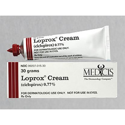 Loprox®, (Ciclopirox), 0.77%, Cream, 30gm Tube