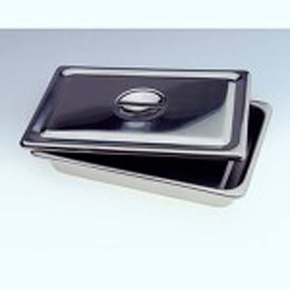 "Tray, Instrument Stainless Steel, 17 1/8"" x 11 5/8"" x 5/8"", Flat, Each"