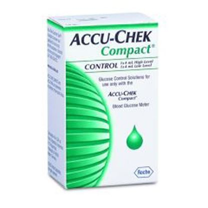 Control Solution, Accu-Chek® Compact, Blood Glucose 2/Box