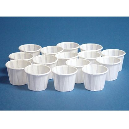 Cups, Paper 4 ounce, Wax Coasted, 1,000/Case