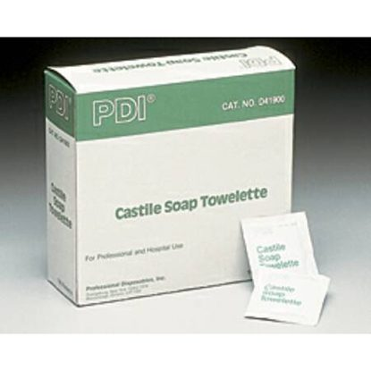 Towelette, Perineal   Castile Soap/2% Coconut Oil, PDI®, 100/Box