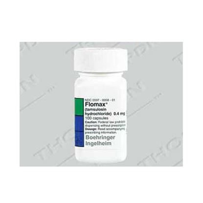 Flomax®, (Tamsulosin HCl), 0.4mg, 100 Capsules/Bottle