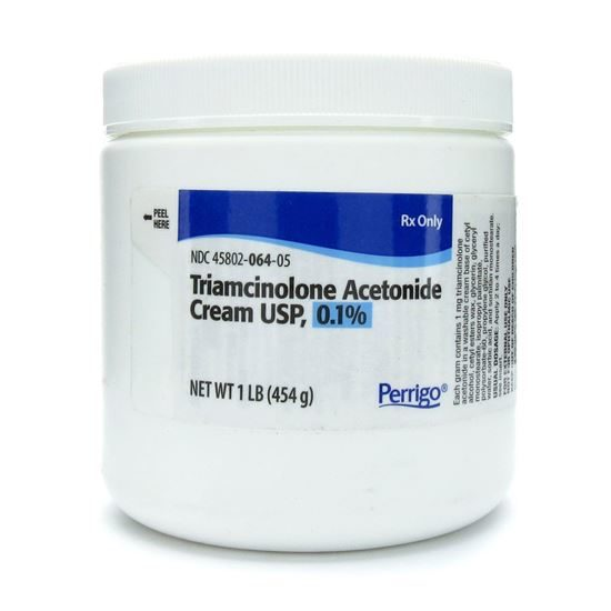 Triamcinolone (Aristocort-A) 0.1 Cream