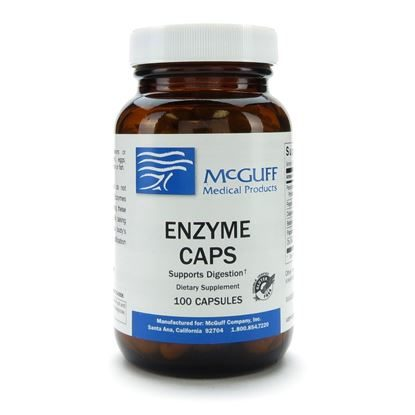 Enzyme Caps, 100 Capsules/Bottle