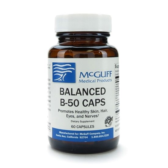 Balanced B 50 60 CapsulesBottle