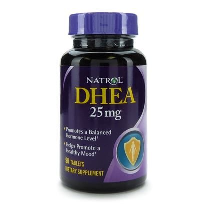 DHEA, 25mg Tablets, 90/Bottle