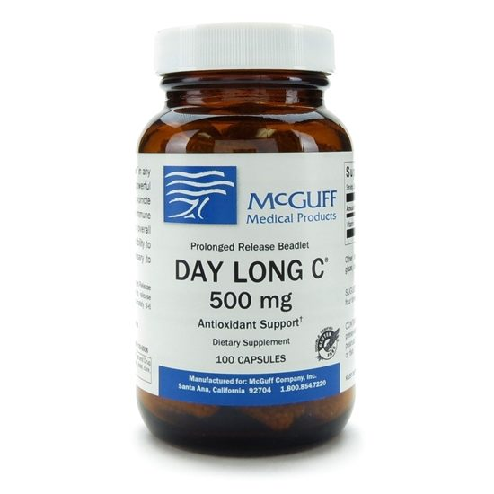 DAY LONG C Prolonged Release 500mg 100 CapsulesBottle