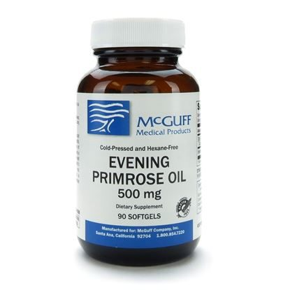Evening Primrose Oil, 500mg, 90 Softgel Capsules/Bottle