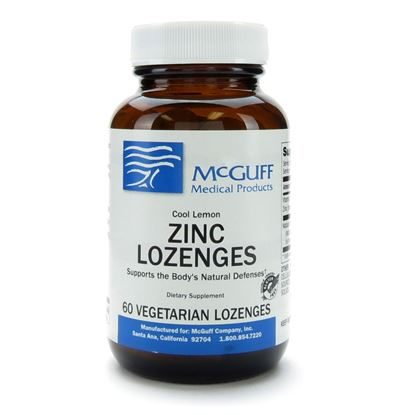 Zinc Lozenges,  Lemon, 23mg, 60 Lozenge/Bottle