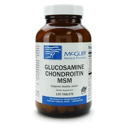 Glucosamine Chondroitin MSM, 375/300mg, 120 Tablets/Bottle