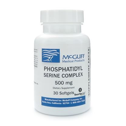 Phosphatidyl Serine Complex, 500mg Softgels, 30/Bottle