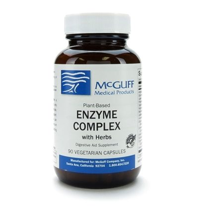 Enzyme Complex w/Herb, Vegicaps, 90/Bottle