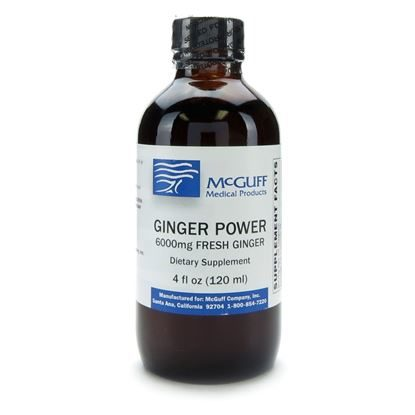 Ginger Power Syrup Concentrate  4ozBottle