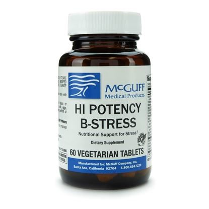 Hi-Potency B-Stress, 60 Tablets/Bottle