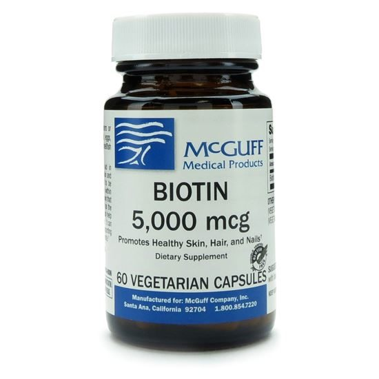 Biotin  5mg 60 CapsulesBottle  Discontinued