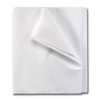 "Drape Sheets, White, 2-Ply 40"" x 60"",  Medi-Pak™ Performance, 100/Case"